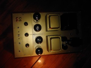 PP KT88/6550 Tubes Ampli đẳng cấp HI-END: Model Apollo