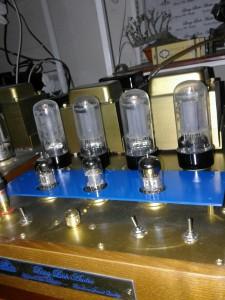 PP KT66/6L6/EL34/6P3C Tubes Ampli: Model Mercury (Sao thủy)